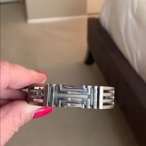 Tory Burch Sterling Silver Bangle for Fitbit Flex2